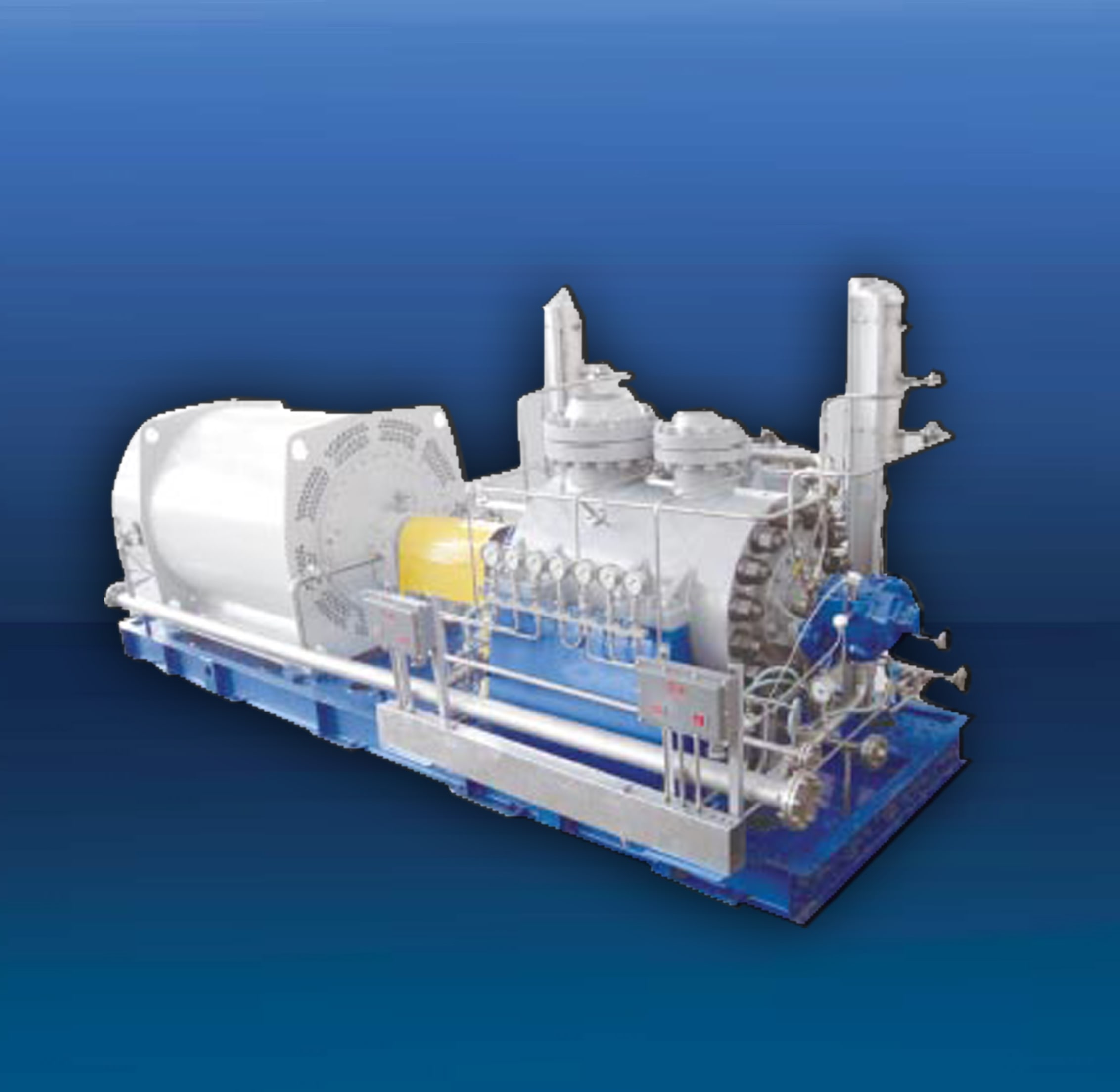 Horizontal multistage pumps