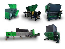 Plastic Shredder Machines