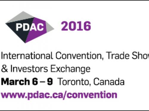 Torontech is attending PDAC 2016 - International Convention, Trade Show